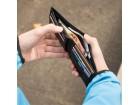 Swiss Peak RFID anti-skimming wallet